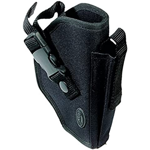 UTG PVC-H270B - Fondina da cintura Deluxe Commando, colore: nero, PVC-H270B - Pistola Fondina