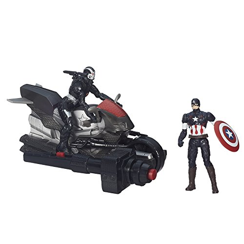 Marvel Avengers - Age of Ultron - Captain America & Marvel's War Machine - 2 Spielfiguren a 6 cm