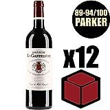 X12 Château La Gaffelière 2014 37,5 cl AOC Saint-Emilion Grand Cru 1er Grand Cru Classé B Rouge Rotwein