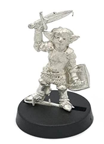 Stonehaven Gnome Knight on Foot Miniature Figure for 28mm Table top Wargames - Made in USA