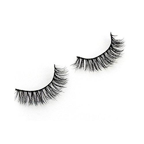 TOOGOO 1 paires 3D faux cils de luxe Longs cils naturels solids Cils pour maquillage A03