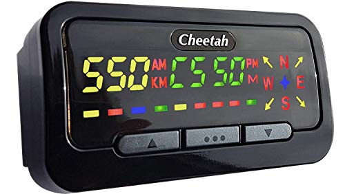 Cheetah C550 GPS Speed & Red Lig...