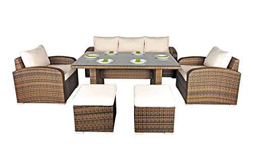 Nevada Rattan Garden Furniture 5 Seat Sofa Glass Top Table  : 41I UBiw1zL from www.uk-rattanfurniture.com size 500 x 330 jpeg 24kB