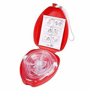 SHINA CPR Beatmungsmaske Resuscitator Hard Case Medizinische Rettungsmaske