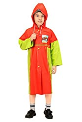 Goodluck Boys Full Sleeve Raincoat (Size 24, 2-3 Years)