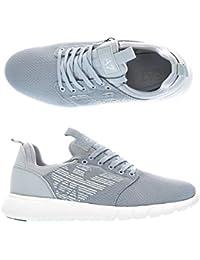 Amazon.it  Armani - Grigio   Sneaker   Scarpe da uomo  Scarpe e borse 4a2b79229f0