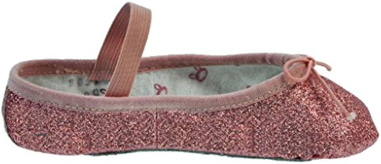 Bloch 225 Brillo de Polvo Ballet Shoe, Full Sole  -