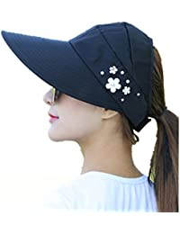 Chytaii Sombrero para el Sol de Mujer Sombrero al Aire Libre Sombrero del  Verano Gorra de 5a42a9adbbd