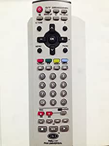 PANASONIC UNIVERSAL TV REMOTE (Works for maximum CRT models)