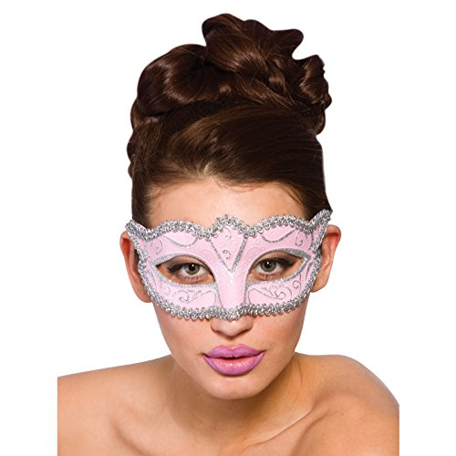 Verona Eye Mask - Pink & Silver (min 12) **NEW**