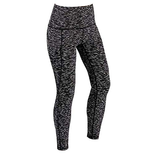 top fashion the best attitude the latest NPRADLA Womens Yoga Pants,High Waist Phone Pockets Leggings for Women Gym  Workout Running Fitness Sports Trousers Tights