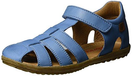 Naturino Jungen See Geschlossene Sandalen, Blau (Jeans), 23 EU (Denim Gefärbte)