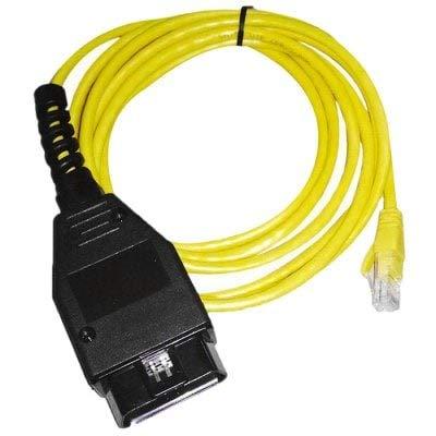 HaiMa Ethernet À OBD Câble D'Interface De Diagnostic De Voiture Scanner pour BMW Enet-Jaune