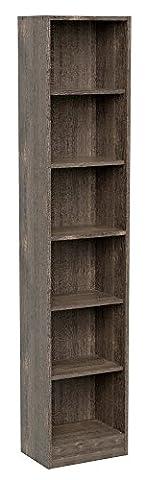 INFINIKIT Haven Pillar Bookshelf - Grey Oak