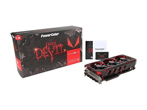 Price comparison product image PowerColor 8 GB Radeon RX Vega 64 Devil HBM2 PCI-EXPRESS Graphics Card - Red