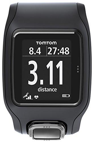 TomTom Runner Cardio GPS-Sportuhr schwarz