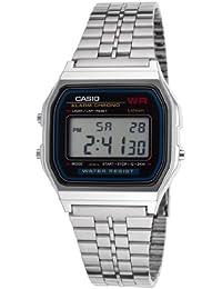 CASIO Reloj de cuarzo Vintage Plateado