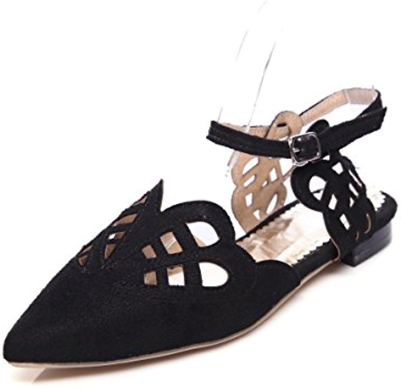 QIN&X Donna Punta Cinturino Alla Caviglia Tacco Tacco Tacco Piatto Sandali | Aspetto Attraente  | Uomo/Donna Scarpa  c3ae9e
