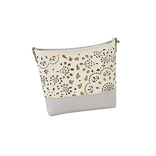 HOSOME Damen-Handytasche, quadratisch, mit Einer Schulter, kleine Tasche - Mehrfarbig - 18 cmx3 cmx18 cm - Sorel Regen Stiefel