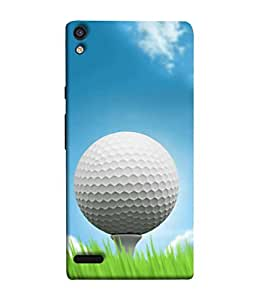 PrintVisa Designer Back Case Cover for Huawei Ascend P6 (Sport Green Activity Leisure Play Game Hobby)