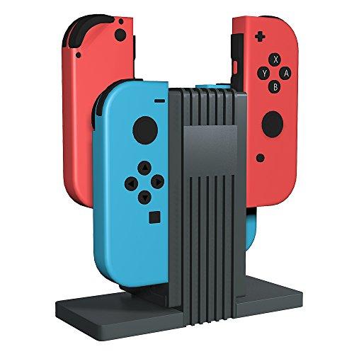 Versiontech Cargador Para Mando Nintendo Switch Joy-Con Controlador 4 en...