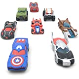 Amitasha Super Heroes Racing Car Set For Kids (Super Heroes Car)