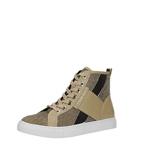 AJ Armani Jeans 925168 Sneakers Damen Synthetisch Gold