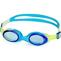 Dafunna Enfant Lunettes de Piscine Natation antibuée Réglable étanches Protection UV de 4 à 9 Ans