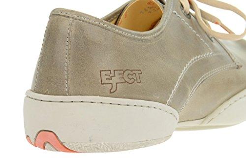 Eden eject chaussures pour homme en cuir véritable, gris Gris - Gris