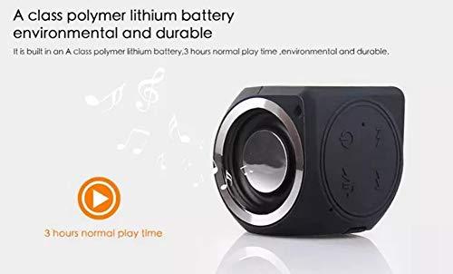 HS-TWYBYX Subwoofer Portable Bluetooth Musique Haut-Parleur Stéréo sans Fil BT Haut-Parleur Étanche Voyage Son (Couleur Aléatoire) 8