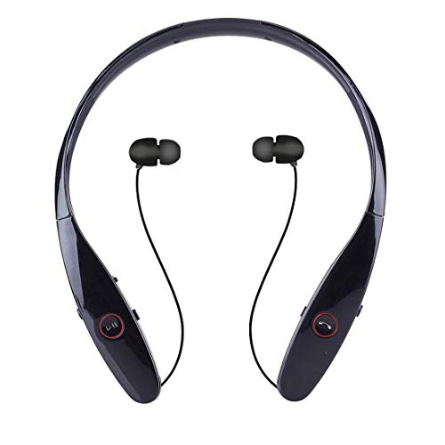 HBS-900 Wireless Headset Bluetooth Headset Stereo Bluetooth Bluetooth 4.0 Apple Android Universal , Schwarz (Bluetooth-headset Hbs-900)