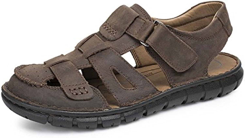 LEDLFIE Sandalen Mode Outdoor Schuhe Strandschuhe DarkBrown 40LEDLFIE Sandalen Outdoor Strandschuhe DarkBrown 40 Billig und erschwinglich Im Verkauf