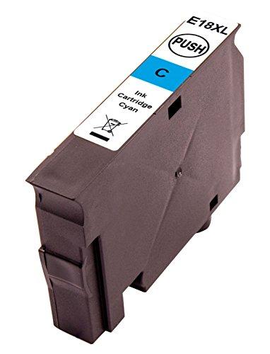 Preisvergleich Produktbild Peach Tintenpatrone cyan kompatibel zu Epson No. 18XL c, T1812