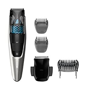 Philips Norelco 7200 Beard Vacuum Trimmer with 20 Built-In Length Settings