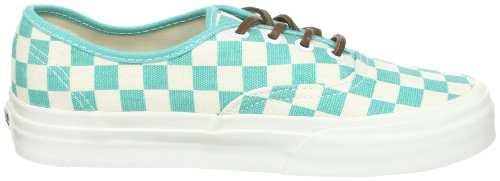 Vans Authentic CA Checker Waterfall blanc Grün