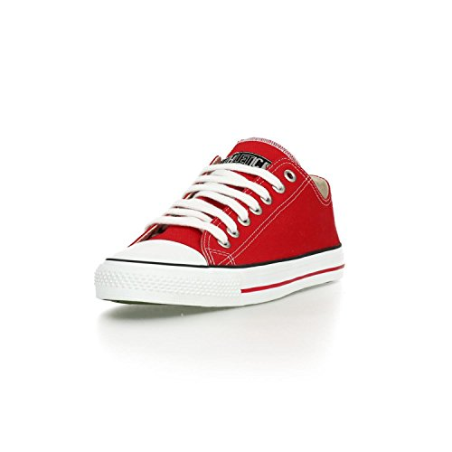 Ethletic Sneaker LoCut – rot / weiß aus Bio-Baumwolle, vegan & fair trade - 2