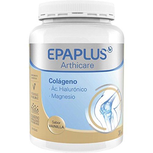 Epaplus Colágeno, Acido Hialurónico y Magnesio Sabor Vainilla - 325 gr
