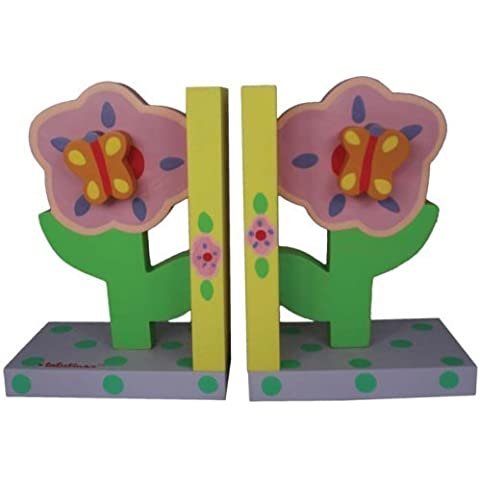 Tatutina Pastel Flower Bookends by