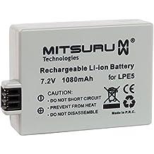 Mitsuru–8W 7,2V batería original para cámara digital Canon EOS/1000/1000d/450d/500d