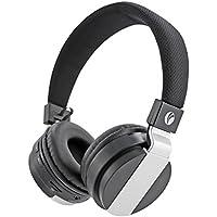 VCOM Auriculares inalámbricos Bluetooth en la oreja, Hi-Fi Estéreo Auriculares plegables con cancelación