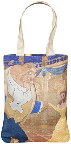 Large tote bag Beauty and beast bag