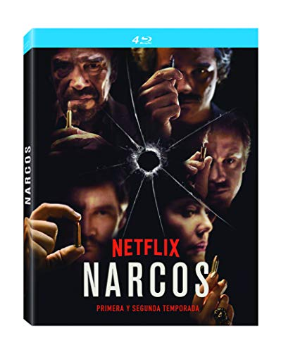 Pack: Narcos 1 + Narcos 2 (4 BDs) [Blu-ray]