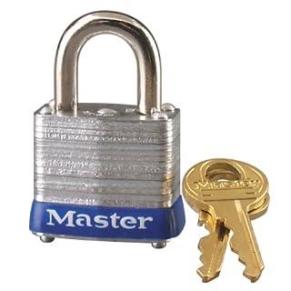 Master Lock 7KA P307#7 Laminated Padlock, 1-1/8