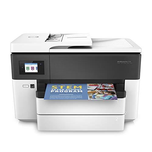 Hp officejet pro 7730 imprimante multifunzione a colori, usb, nero/bianco