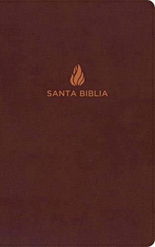 NVI Biblia Ultrafina, Marrón Piel Fabricada Con Índice