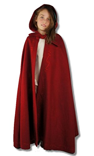Leonardo Carbone Mittelalter Umhänge Kleinvolk - Kinder Priscilla rot