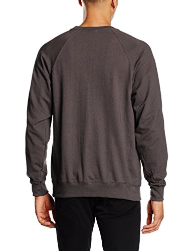 Fruit of the Loom Herren Sweatshirt Grau (Dark Grey)