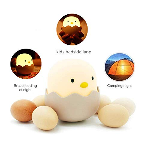 Lamparas Animales LED Silicona Luz Chick Night Light