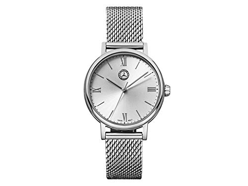 Reloj de Pulsera para Mujer Mercedes-Benz Classic Lady Silver Plateado de Acero Inoxidable.