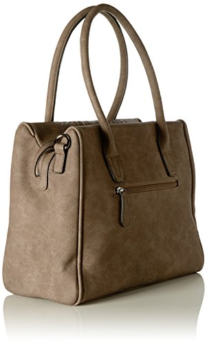 Betty Barclay Damen Shopper Bag Henkeltasche, 19 x 28 x 35 cm Beige (Light Beige)